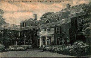 New York Hyde Park Residence Of The Late President Franklin D Roosevelt Alber...