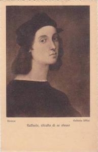 Raffaele ritratto di se stesso Italy Firenze Galleria Uffiza