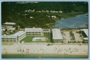Cape Cod Riviera Beach MA. Beach View Post Card A2