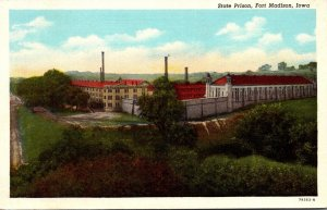 Iowa Fort Madison State Prison Curteich