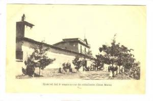 Quartel del 1 regimiento de caballeria (Casa Mata) , 1890s-1907