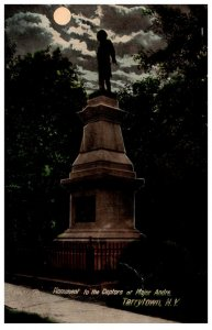 New York  Tarryville ,  monument to capitives of Major Andre