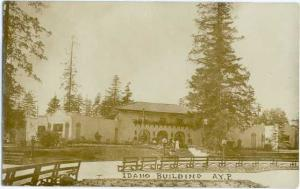 RPPC Idaho Building at Alaska, Yukon & Pacific Exposition, Seattle, 1909