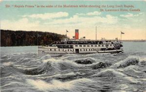 10746   S.S. Rapids Prince  Long Sault Rapids, St. Lawrence River