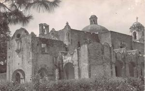 Real Photo Mexico Postcard Tarjeta Postal Old Church Converted in Cinema Real...