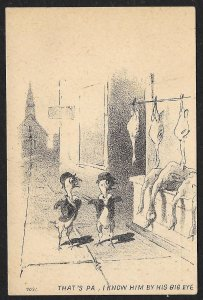 VICTORIAN TRADE CARD Martin Agricultural Implements Chicken As People Thats Pa..