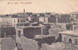General Views of Buildings in Suez, Egypt, 1900-10s