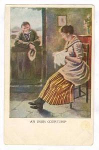 An Irish Courtship, Ireland, pre-1907