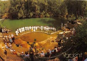 BR4304 Yardenit Pilgrim Baptismal Site River Jordan    israel