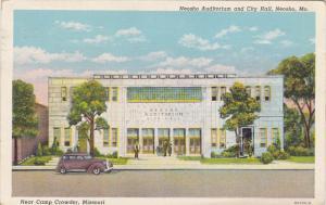 Neosho Auditorium and City Hall, near Camp Crowder, NEOSHO, Missouri, PU-1943