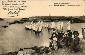 CPA   Core d'Emeraude - Saint-Malo - Vue générale  (356961)