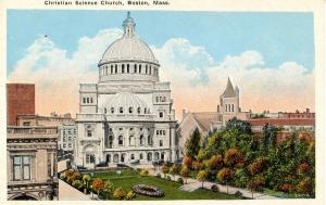 MA - Boston. Christian Science Church