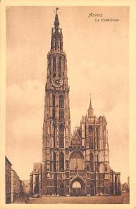 Anvers Belgium, Belgique, Belgie, Belgien La Cathedrale Anvers La Cathedrale