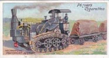 Player & Sons Vintage Cigarette Card Army Life No 17 Mechanical Transport Sec...