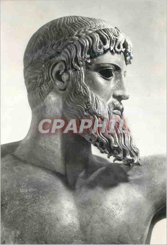 Modern Postcard National Museum of Athens Tete Poseidon of Artemision