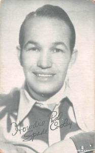 Spade Cooley Western Actor Mutoscope Unused