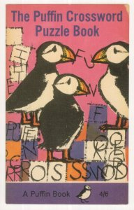 The Puffin Crossword Puzzle 1966 Book Postcard