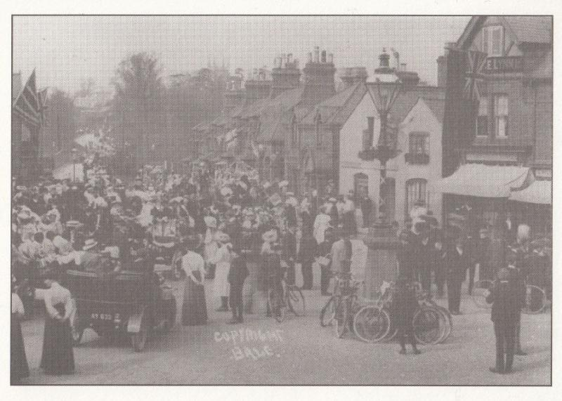 Kibworth May Day Dancing Celebrations Leicester Postcard