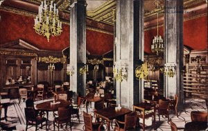 LOUISVILLE KY The Seelbach Gentlemen's Caf' c1910 Postcard