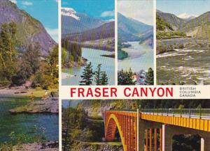 Canada Multi View Fraser Canyon British Columbia