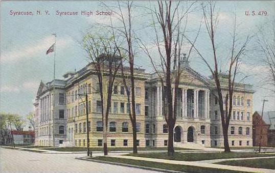 New York Syracuse Syracuse High School