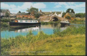 Staffordshire Postcard - Great Haywood Junction, Trent and Mersey Canal  RT44