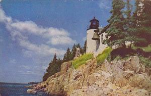 Maine Mt Desert Island Bass Harbor Lighthouse