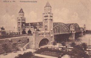 COLN A. RH., North Rine-Westphalia, Germany, 1900-1910s; Hohenzollernbucke