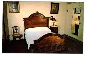 Franklin D Roosevelt, Birth Room Bed, Hyde Park New York