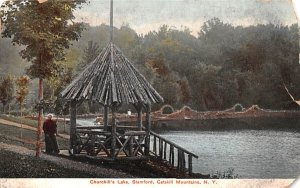 Churchill's Lake in Stamford, New York