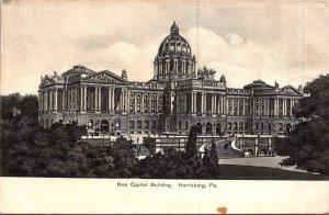 Pennsylvania Harrisburg The New Capitol Building 1907