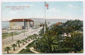Hotel Virginia Long Beach California 1910c postcard
