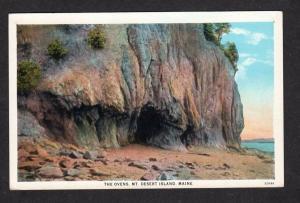 ME The Ovens Acadia National Park Mt Desert Island Bar Harbor Maine Postcard