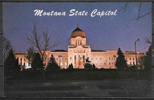 Montana, Helena, State Capitol. Unused