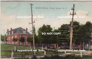 Wayne County Home, Lyons NY