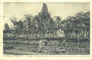 Ruines D'Angkor Cambodia, Cambodge Le Bayon, Vue d'ensemble Ruines D'Angkor L...