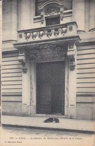 PARIS , France , 00-10s : Academie de Medecine (Details de la Porte0