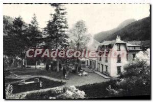 Old Postcard Mont Dore chestnut