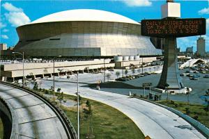 Postcard - Louisiana Superdome, New Orleans, Louisiana - 1980s