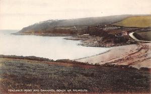 Penzance Point and Swanpool Beach Nr. Falmouth General view