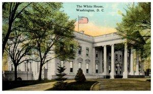 1910's The White House Side View Washington D.C. PC2010