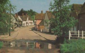The Splash Kersey Suffolk Rare 1970s Postcard