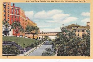 Arkansas Hot Springs Army and Navy Hospital and New Annex Curteich