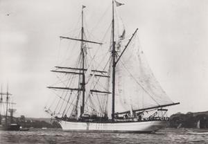 Brigantine Carnegie Research Vessel National Maritime Museum Postcard