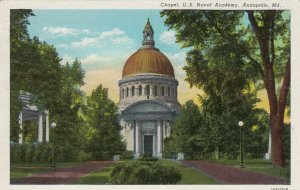 ANNAPOLIS, Maryland, 1930-40s; Chapel, U.S. Naval Academy