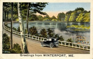 ME - Greetings from Winterport, Maine