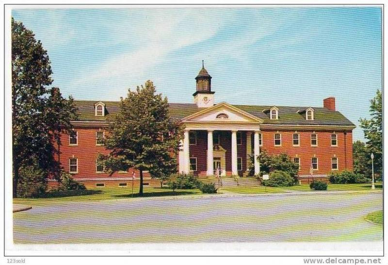 Admin Building, US Veterans Hospital, Aspinwall , Pennsylvania , 40-60s