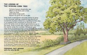 The Legend of the Wishing Cork Tree , Victoria , B.C. , Canada , 50-60s