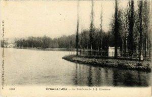 CPA Ermenonville- Le Tombeau de J.J. Rousseau FRANCE (1020466)