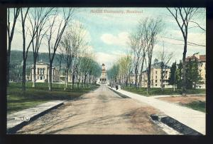 Montreal, Quebec, Canada  Postcard, McGill University